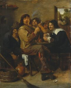 Adriaen_Brower_-_The_Smokers
